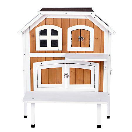 "Trixie 2-Story Cat Cottage (30½"" x 22¾"" x 35¼"")"