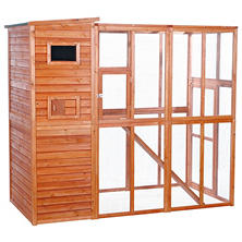"Trixie Wooden Outdoor Cat Run (76¾"" x 37¼"" x 68¾"")"