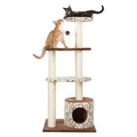 """Trixie Gaspard Cat Playground (23.5"""" x 19.5"""" x 54.25"""")"""