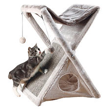 Trixie Miguel Fold-and-Store Cat Tower (Choose Your Color)
