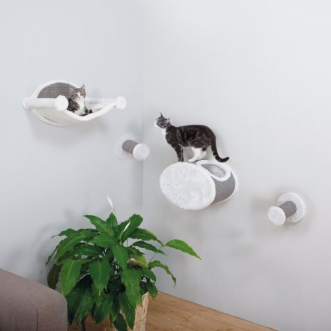 Trixie Wall-Mounted Cat Lounging Set