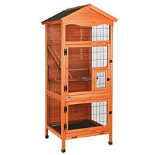 "Trixie Aviary Extra Large Wooden Bird House (30.5"" x 30.5"" x 70.75"")"