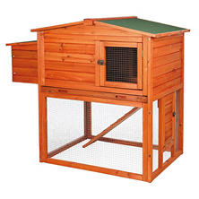"Trixie 2-Story Chicken Coop with Outdoor Run (49"" x 31"" x 42"")"
