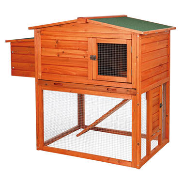 Trixie 2-Story Chicken Coop with Outdoor Run (49