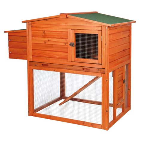 """Trixie 2-Story Chicken Coop with Outdoor Run (49"""" x 31"""" x 42"""")"""