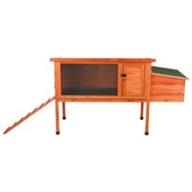 "Trixie 1-Story Chicken Coop with Exterior Ramp (61"" x 24.75"" x 36"")"