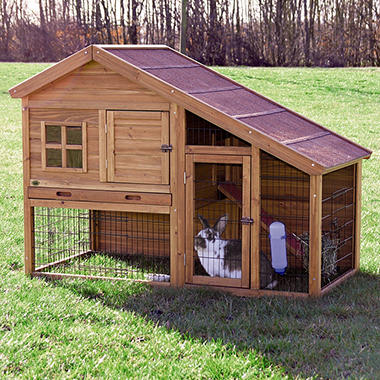 Trixie Rabbit Hutch With A View 59 25 Quot X 31 25 Quot X 42