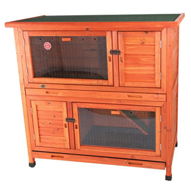 Trixie 2-in-1 Rabbit Hutch with Insulation (45.5
