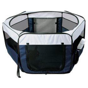 Trixie Soft Sided Mobile Play Pen (Chose Your Size)