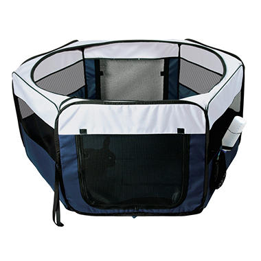 Soft Sided Mobile Play Pen - Medium