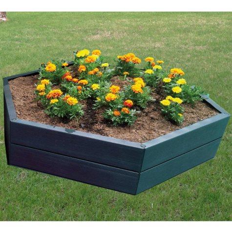 """Modular 10""""H Hexagon Raised Garden Bed"""