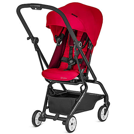 Cybex Eezy S Twist Stroller, Ferrari Collection in Racing Red
