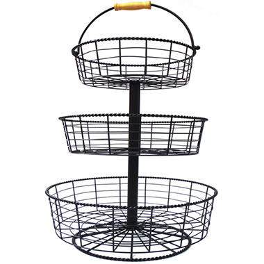 Giftburg 3-Tier Wire Basket - $2.97 Shipping - Sam\'s Club