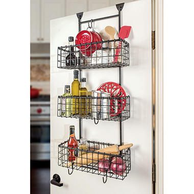 Grid Over the Door 3 Basket Organizer  sc 1 st  Sam\u0027s Club & Grid Over the Door 3 Basket Organizer - Sam\u0027s Club