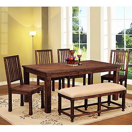 Everett Dining Set 6 Pc Sam S Club