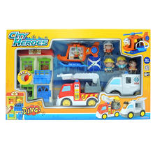 City Heroes Preschool Set