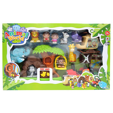 Animal World Preschool Set