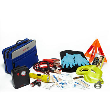 Justin Case Auto Safety Kit with Air Compressor