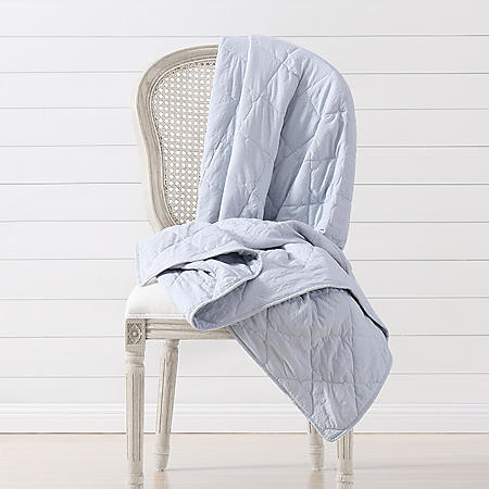Prairie by Rachel Ashwell Quilted Throw (Various Colors)