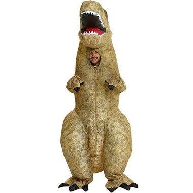 Adult Inflatable 5 Style Costume Assortment T Rex Gorilla Cow