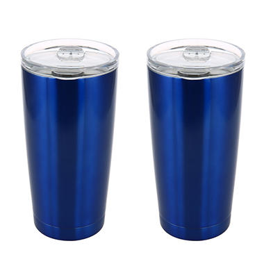 Member's Mark 20 oz. Stainless Steel Vacuum Insulated Tumblers, 2 Pk.