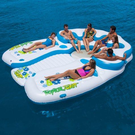 Floating Island, Tahiti Island