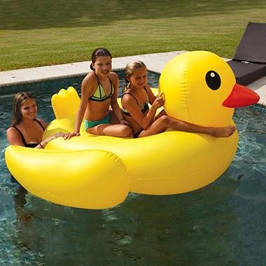 floating water clock giant pool float duck sams club