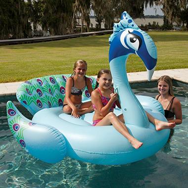 Giant Pool Float Peacock Sam S Club