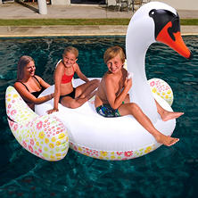 Giant Pool Float - Swan