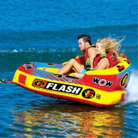 WOW Flash 2-Person Cockpit Towable