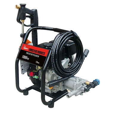 POWER+ 1,800 PSI - Gasoline Pressure Washer