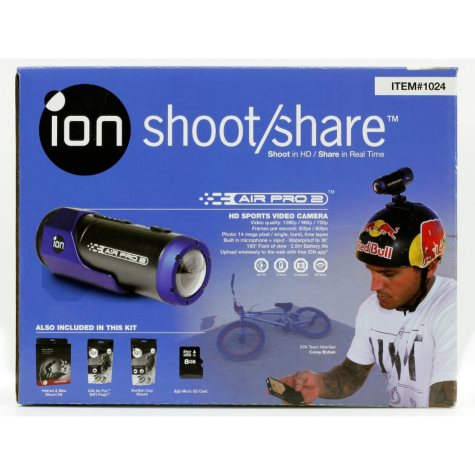 iON Air Pro 2 WiFi Bundle with Mounting Pack and 8GB SD Card