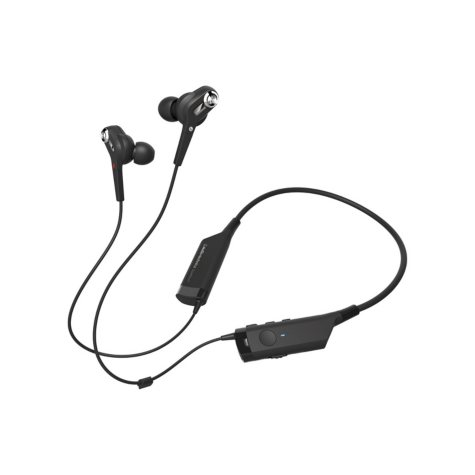 Audio-Technica ATH-ANC40BT QuietPoint Active Noise-Cancelling Wireless In-Ear Headphones