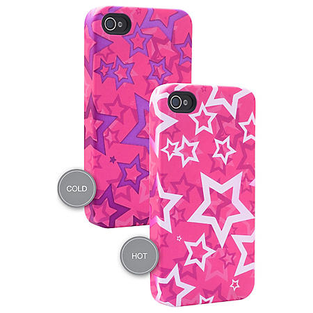 Venom Heat Changing Stars Case for use with iPhone 4/4S