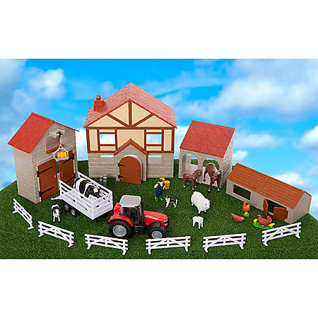 30 Piece Big Farm Playset