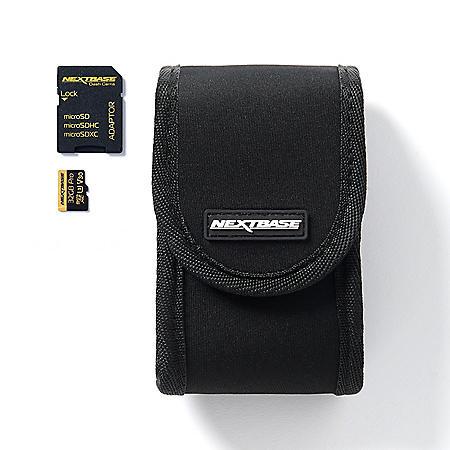 Nextbase Dash Cam Case and 32GB Micro SD Card