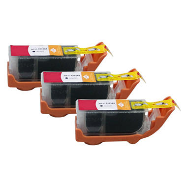 Canon PGI-225 Compatible Ink Cartridge, Black (3 pk., 340 Page Yield)