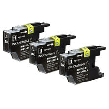 Brother LC75 Compatible Ink Cartridge, Black (3 pk., 600 Page Yield)