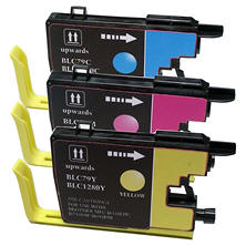Brother LC79 Compatible Ink Cartridge, Cyan/Magenta/Yellow (3 pk., 2,400 Page Yield)