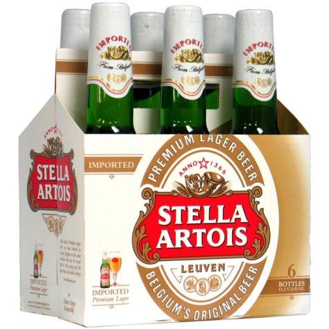 Stella Artois (11.2 fl. oz. bottles, 6 pk.) - Puerto Rico