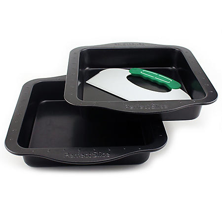Perfect Slice 3-Piece Pans with Tool (Assorted Styles)