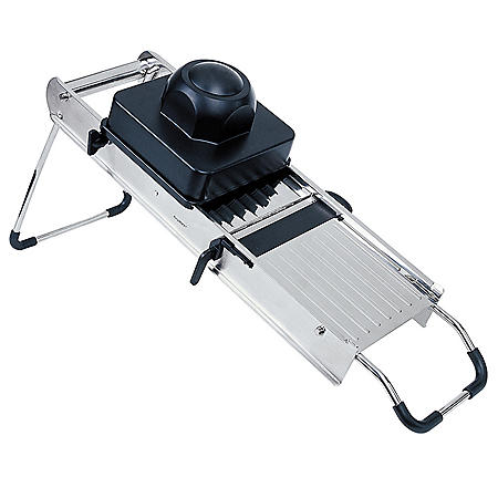 "Professional 17"" Stainless Steel Mandoline Slicer"
