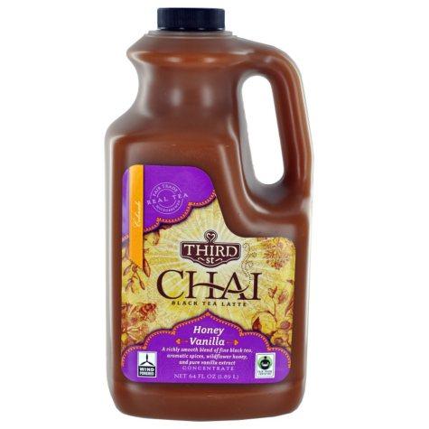 Honey Vanilla Chai Tea Latte - 64 oz. bottle