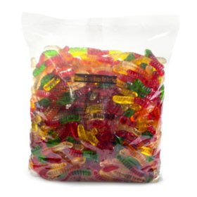Albanese 12 Flavor Mini Gummi Worms (5 lbs.)