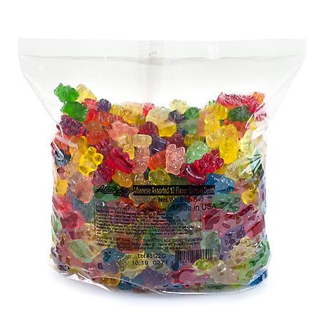 Albanese 12 Flavor Gummi Bears (5 lbs.)
