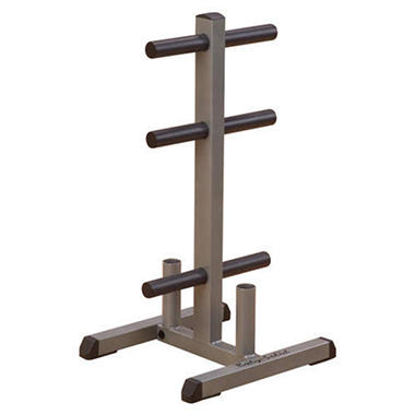 Body Solid GOWT Olympic Plate Tree & Bar Holder