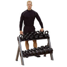 Body Solid GDKR100 Kettlebell/Dumbbell Rack