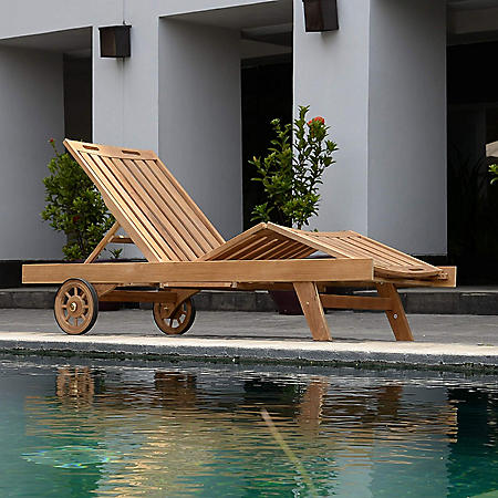 Weston Teak Sun Lounger