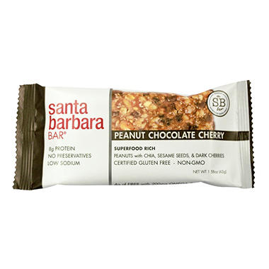Santa Barbara Bar Peanut Chocolate Cherry (24 ct.)