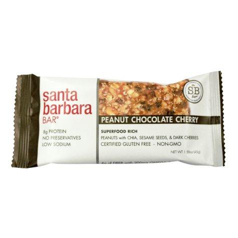 Santa Barbara Bar Peanut Chocolate Cherry (24 ct.)